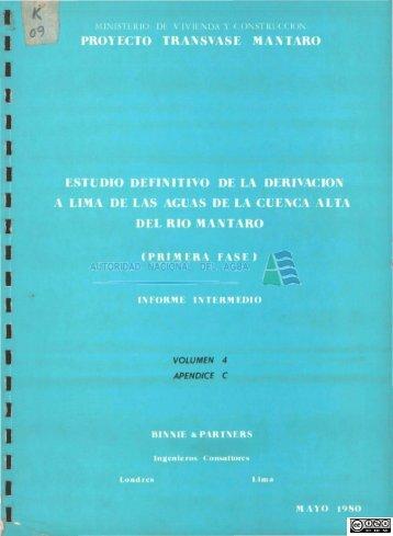 K 9.pdf - Biblioteca de la ANA.