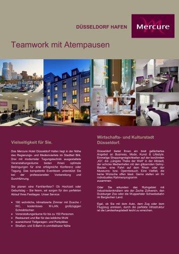Teamwork mit Atempausen - Mercure