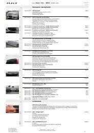 Karosserie / Aerodynamik Lichttechnik Basis Viano / Vito - W639 (10 ...