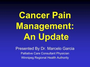 Pain Update - Palliative Care