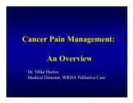 Cancer Pain Management: An Overview - Palliative.info