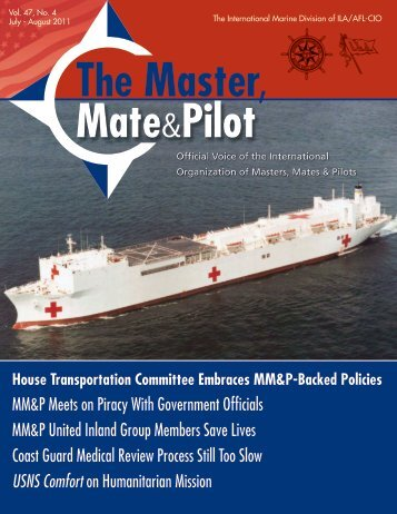 July-August 2011 - The International Organization of Masters, Mates ...