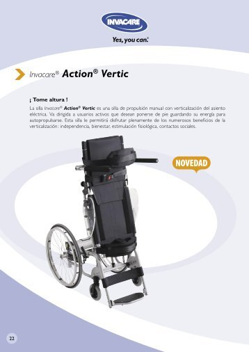 Invacare® Action® Vertic