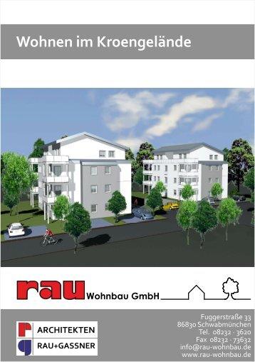 Wohnen im Kroengelände - Rau Wohnbau GmbH