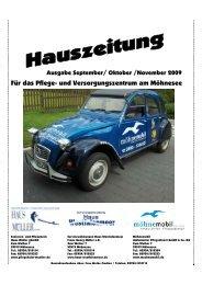 Hauszeitung 15 neu - Senioren- und Pflegeheim Haus Müller gGmbH