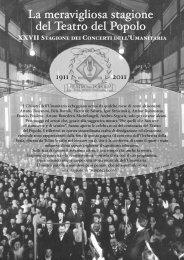 INSERTO musica 4-2011 - Società Umanitaria