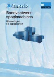 Bandvaatwerk- - Bouter BV