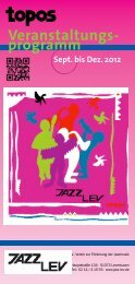 Aktuelles Programm als PDF herunterladen (Stand ... - Jazz Lev e. V.