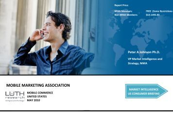 Mobile Commerce - Mobile Marketing Association