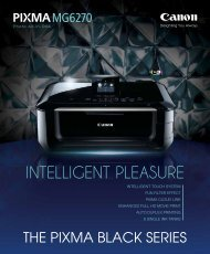 INTELLIGENT PLEASURE - Canon in South and Southeast Asia