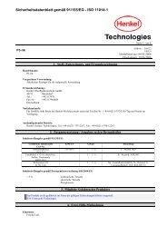 Download Produktinformationen