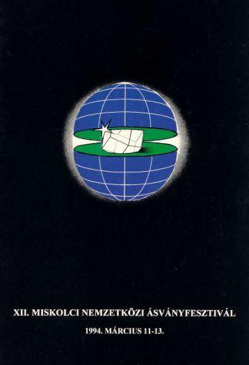 mf1994.pdf (2 MB) - Herman Ottó Múzeum Ásványtára