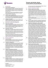Soneran palveluiden yleiset toimitusehdot yritysasiakkaille (pdf)