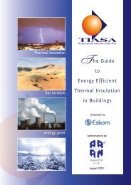 The Guide to Energy Efficient Thermal Insulation in Buildings - aaamsa