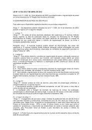 Lei Nº 14.750, Altera a Lei nº 11.600, de 19 de dezembro de - Udop