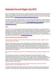 July - Asian Studies Association of Australia