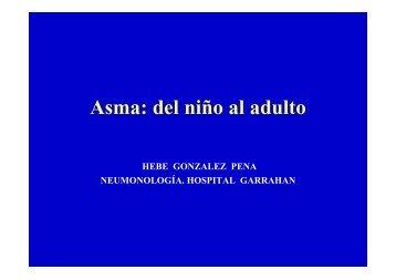 Asma: del niño al adulto