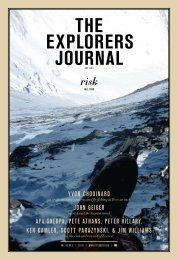 the explorers journal - The Explorers Club