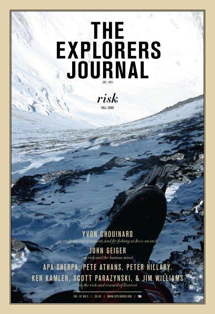 the explorers journal The Explorers Club