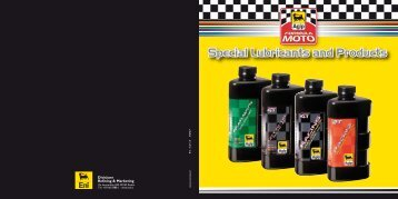 Special Lubricants and Products - American Agip