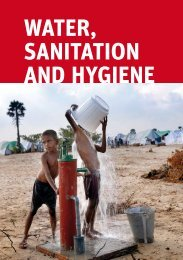 water, sanitation and hygiene - E-Shelter & CCCM Cluster