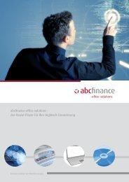 abcfinance office-solutions – der Power-Player für Ihre Hightech ...