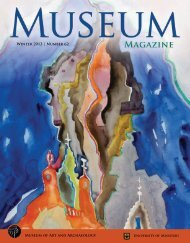 Winter 2013 - Museum of Art and Archaeology - University of Missouri