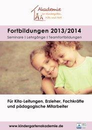 zum Download - Akademie für Kindergarten, Kita und Hort