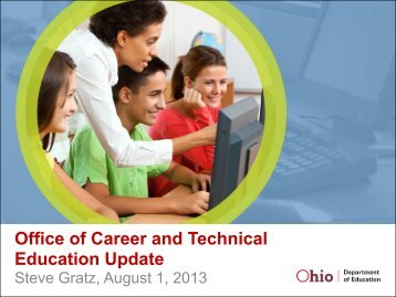 Office of Career and Technical Education Update - Ohio ACTE
