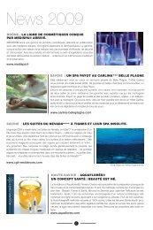 News 2009 - Medispa