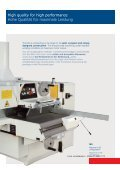 High performance multiblade rip saws ... - Caple Traders - Seite 3