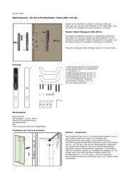 Net2 PaxLock - für Euro-Profilzylinder 72mm (901-172-D) - Merk ...