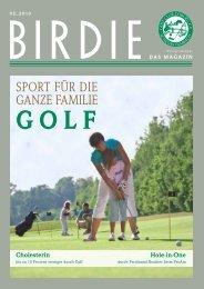 birdie 02_2010 (pdf 4 mb) - Golf-Club Coburg Schloss Tambach eV