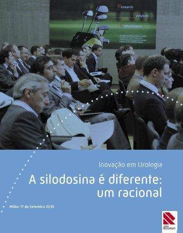 A silodosina é diferente: um racional - Jaba