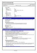 EG-Sicherheitsdatenblatt - Lugato - Page 5