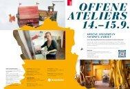Offene Ateliers in Sachsen-Anhalt 2013 - Kunstrichtungtrotha