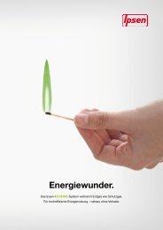 Energiewunder. - Ipsen