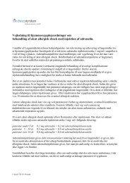 Vejledning til hjemmesygeplejeordninger om behandling af akut ...