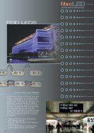 POD LEDS - FibreLED