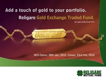 Religare Gold Exchange Traded Fund - NSE