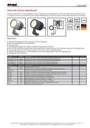 clarios 230 V, Garten-/Objektleuchte - dot-spot