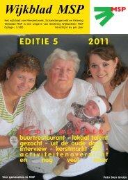Wijkblad St. Wijkbeheer MSP, ed 5, 2011 - Mijn MSP