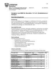 Detaljplan med MKB för Stensätter 1:21 m.fl. (Småbåtshamn) i ...