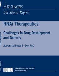 Executive Summary - Insight Pharma Reports