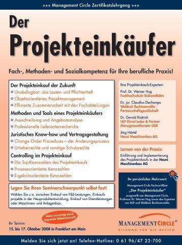 Der Projekteinkäufer - Waldeck Rechtsanwälte ...