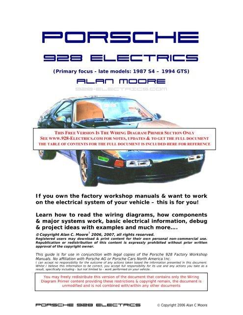 Porsche 928 Electricsr