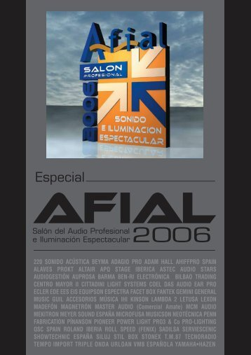 Especial - Afial