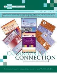2007 Winter Edition - The Colorado Trust