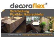 Verarbeitung Flexibler Naturschiefer