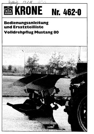 KRONE i\ Nr. 462-0 - Agromix